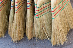 Brooms on sale Royalty Free Stock Photo