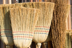 Brooms on sale Royalty Free Stock Images