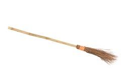 Broomstick della strega Fotografie Stock Libere da Diritti