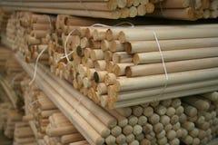 Broomstick imballato Fotografia Stock