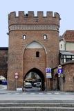 Broport av Torun i Polen fotografering för bildbyråer