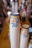 Bros för holländare för bröllopmottagande kaffe Arkivbild