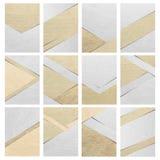 Broschürendesign-Abdeckungspapier-Hintergrundbeschaffenheit in A4 Stockfotos