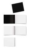 Broschürenplan stockbild