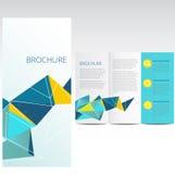 Broschyr stock illustrationer