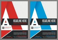 Broschyr med räkningen för stil för logo för ` för bokstavs` A stock illustrationer