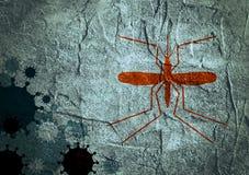 Broschyr-, rapport- eller reklambladdesignbakgrund Relativa virussjukdomar Fotografering för Bildbyråer