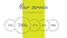 Broschyrräkningsinfographics som används, i marknadsföring och annonsering vektor illustrationer