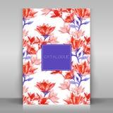 Broshure cover design. Stock Photos