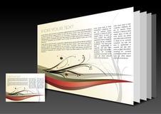 Broshure layout Stock Image