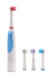 Brosse à dents électrique Images libres de droits