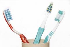 Brosse à dents Photos libres de droits
