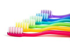 Brosse à dents photos libres de droits