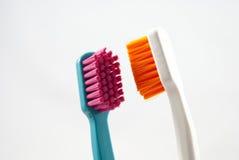 Brosse à dents de plan rapproché Photographie stock