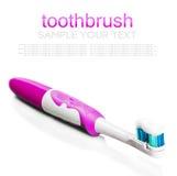 Brosse à dents et pâte dentifrice pour le nettoyage de dent Photo libre de droits