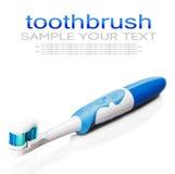 Brosse à dents et pâte dentifrice pour le nettoyage de dent Image libre de droits