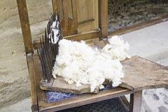 Brosse de laine Images stock