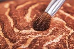 Brosse de maquillage Image stock