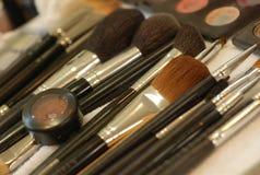 Brosse de maquillage Photos stock