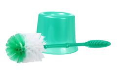 Brosse de toilette Photos stock