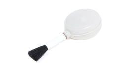 Brosse de ventilateur pour la lentille et les appareils-photo de nettoyage. Photographie stock libre de droits