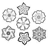 Brosse florale de vecteur pour l'illustrateur Illustration de Vecteur