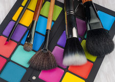 Brosse professionnelle de maquillage Image libre de droits