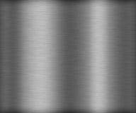 Brosse sans couture en métal d'argent de texture Photographie stock libre de droits