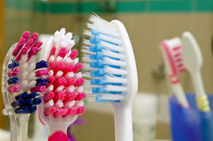 Brosses à dents   Image libre de droits