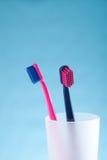 Brosses à dents photographie stock