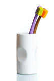 Brosses à dents Photographie stock libre de droits