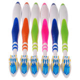 Brosses à dents (chemin de coupure) Photographie stock libre de droits