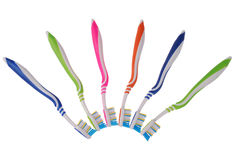 Brosses à dents (chemin de coupure) Image libre de droits