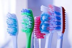 Brosses à dents en glace   Photo libre de droits