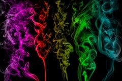 Brosses de fumée Images libres de droits