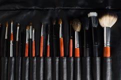 Brosses de maquillage Images stock