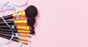 Brosses de maquillage Photo libre de droits