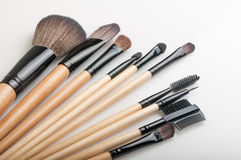 Brosses de maquillage images libres de droits