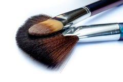 Brosses de maquillage Photo libre de droits