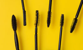 Brosses de mascara Photos stock