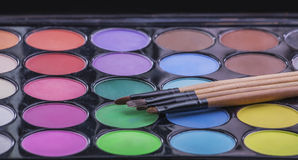 Brosses pour le maquillage Photos libres de droits