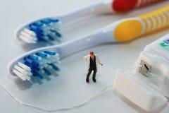 Brossez-vous les dents Images libres de droits