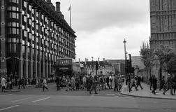 Brost i svartvita London Royaltyfri Fotografi