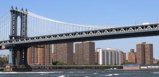 brostad New York Arkivfoton