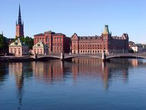 brostockhomsweden vasa Royaltyfri Foto