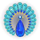 Broszka paw Zdjęcie Royalty Free