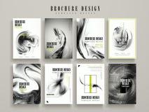 broszurka abstrakcjonistyczny szablon Obraz Stock