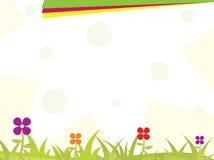 broszurka kwiat Zdjęcia Stock