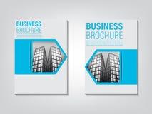 Broszurka projekt Pojęcie architektura projekt również zwrócić corel ilustracji wektora Zdjęcia Stock