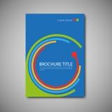 broszurka szablon Zdjęcie Stock